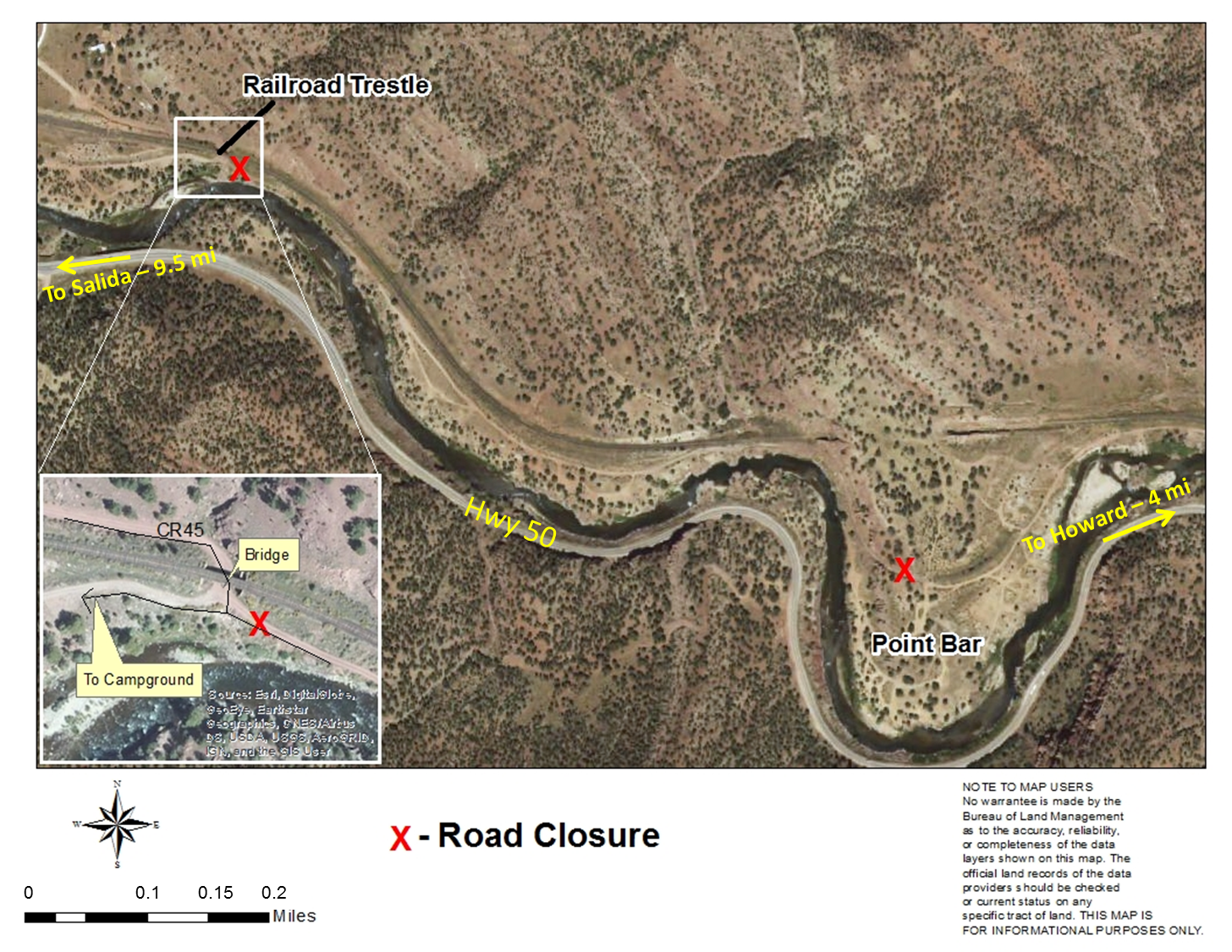 BLM temporarily closes Point Barr road